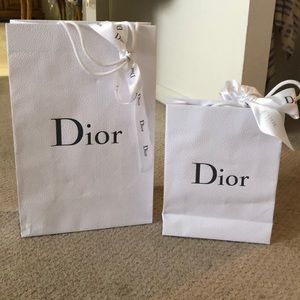 Authentic Dior Bags and Ribbon (2)